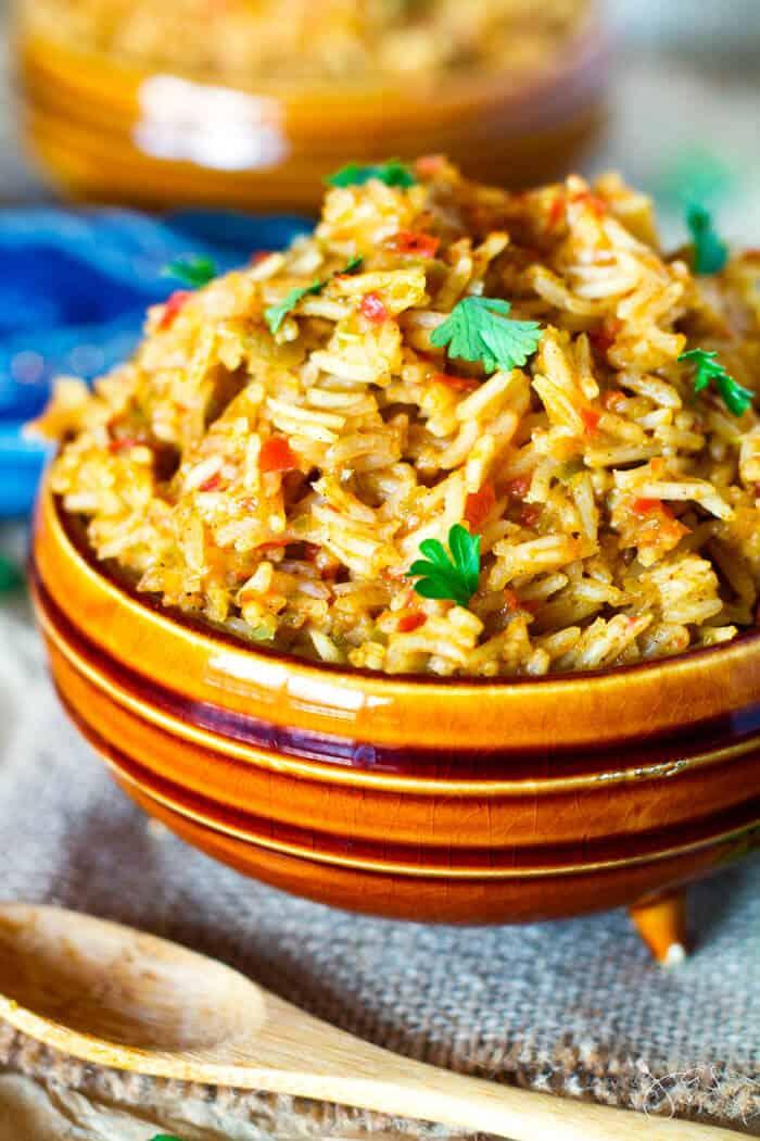 jollof Rice - Nigerian spicy side dish
