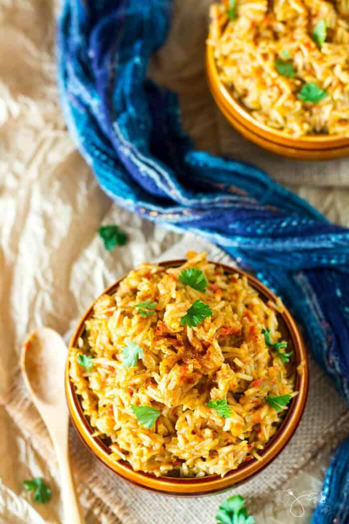 West African rice recipe