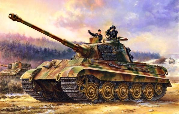 Танк Panzer VIB «Tiger II» (Sd.Kfz.182).