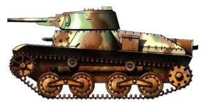 Легкий японский танк «ТИП-3» («КЕ-РИ»)