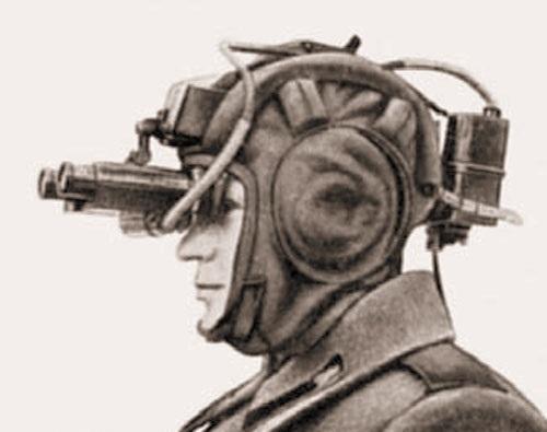 Ночные очки ПНВ-57 для вождения техники по-походному