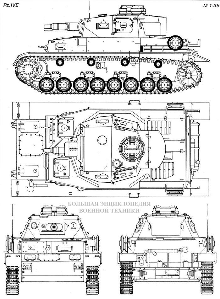Танк Panzer IVE (Sd.Kfz.161)