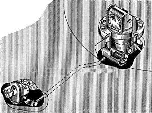 Установка ночного прицела ТПН-1 в танке