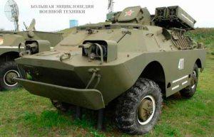 Боевая машина 9А31 зенитного-ракетного комплекса 9К31 «СТРЕЛА-1»