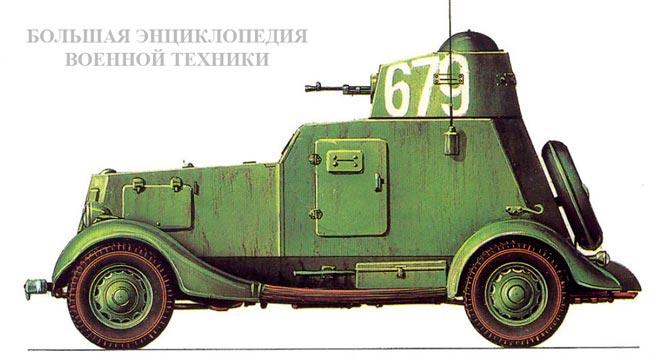 Бронеавтомобиль БА-20М
