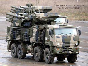 Зенитный ракетно-пушечный комплекс ЗРПК «Панцирь-С1» (Краткая справка)