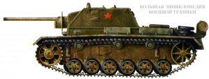 Самоходная установка СУ-76И