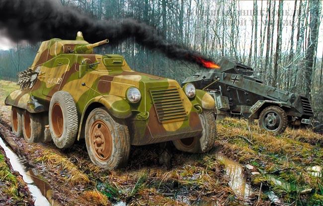 Бронеавтомобиль БА-11