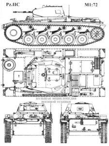 Немецкий легкий танк Pz. II C