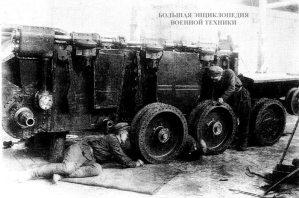Сборка первого танка БТ-ИС на базе БТ-2