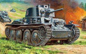 Легкий танк Pz.Kpfw. 38 (t)