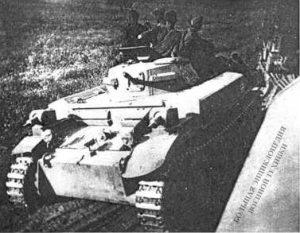 К 22 июня 1941 года огнеметными танками