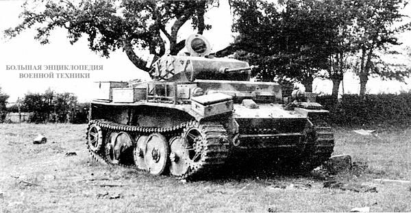 Лёгкий танк Pz.II Ausf.L