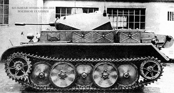 Прототип лёгкого разведывательного танка Pz.II Ausf.L Luchs. 1942 год