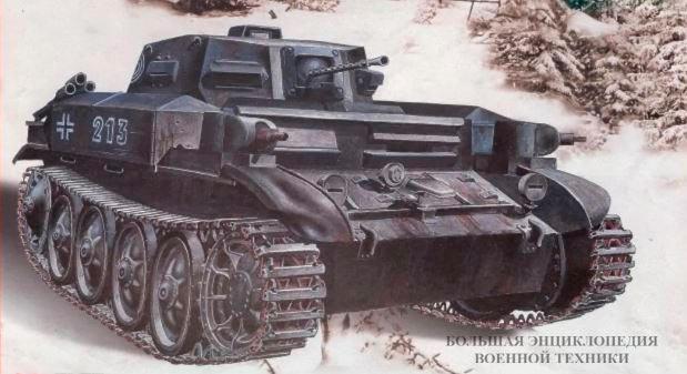 Огнемётный танк Flammpanzer II