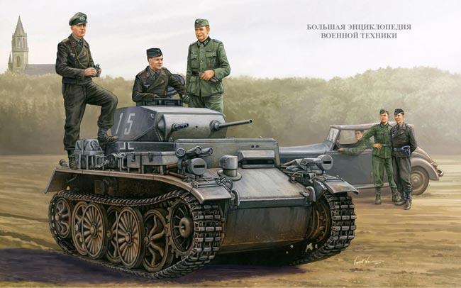 Танк Pz.Kpfw.l Ausf.C