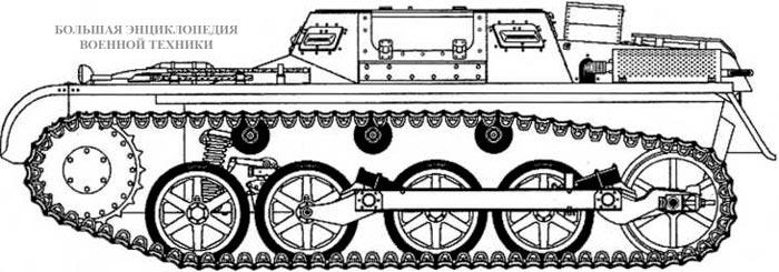 Чертеж Munitionschlepper I (Sd.Kfz. 111)