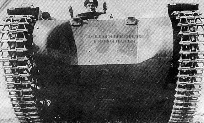 Pz.l, окрашенный в серо-коричневый камуфляж рейхсвера. 1934 год