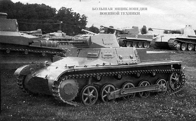 Pz.l Ausf.B в экспозиции танкового музея на Абердинском полигоне в США
