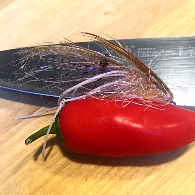 Pepper Shrimp Flies