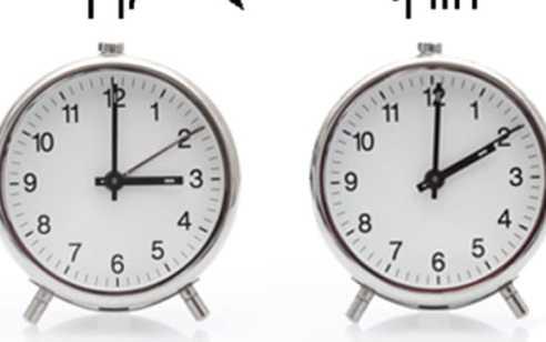 """יום חמישי כ""""ב באדר ב' תשע""""ט –   29.3.2019 עוברים לשעון קיץ"""