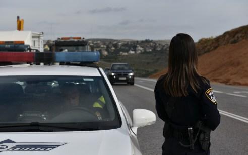 סכנת נפשות:– נעצר רכב בכביש 60 שכיסא הנהג לא מחובר, חסרה ידית הילוכים ואין רפידות ברקס