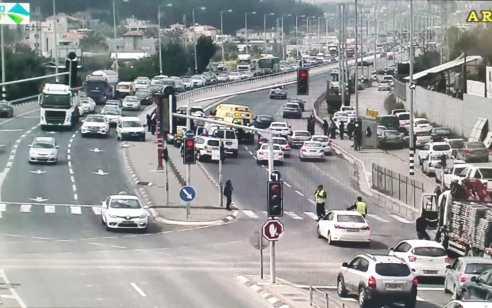 שני צעירים שרכבו על אופנוע נפצעו קשה ובינוני בתאונה בסמוך לצומת מגידו