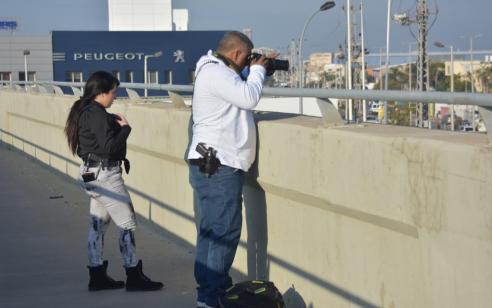 תיעוד: פעילות אכיפה מוגברת של שוטרי אגף התנועה בכבישים 4, 22 נגד עבירות מסכנות חיים ובריונות בכביש