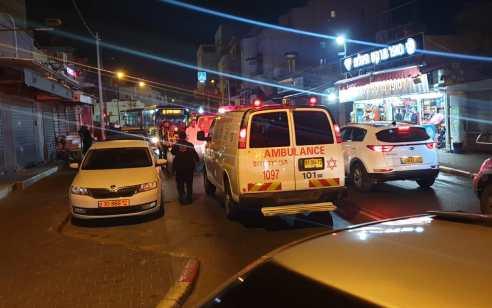 רוכב אופנוע שהחליק בתל אביב נפצע באורח בינוני