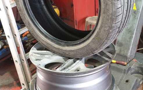 בתם חקירה נעצר חשוד בניקוב צמיגיהם של 8 רכבי עיריית באר שבע