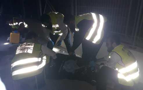 רמת גן: גבר כבן 40 נפל מגובה ונהרג
