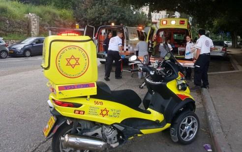 בת 3 נפגעה מרכב בחיפה ונפצעה בינוני
