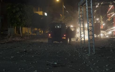 הלילה נעצרו עשרה מבוקשים פעילי טרור