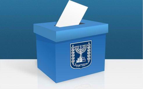 ועדת הבחירות המרכזית: נכון לשעה 20:00 אחוז ההצבעה עומד על 61.3% אל מול 62.4% בבחירות 2015.