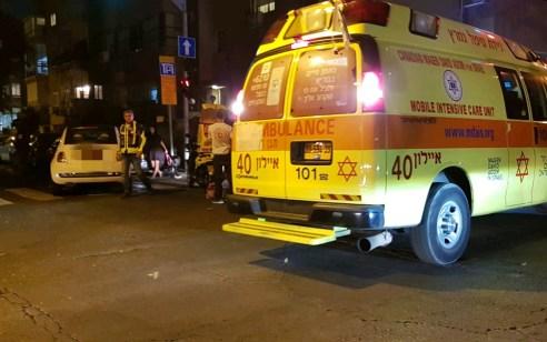 תאונת פגע וברח: אישה כבת 40 פונתה במצב אנוש ומותה נקבע בבית חולים לאחר שנדרסה בתל אביב – הנהג הפוגע נעצר