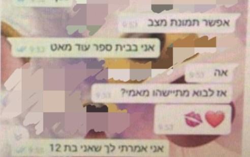 בתום חקירה סמויה נעצר תושב חיפה בן 19 בחשד לביצוע עבירות מין ברשת כלפי קטינים