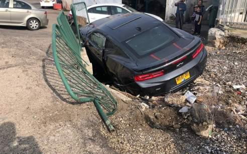 הולך רגל בן 17 נפגע מרכב סמוך לנווה דניאל