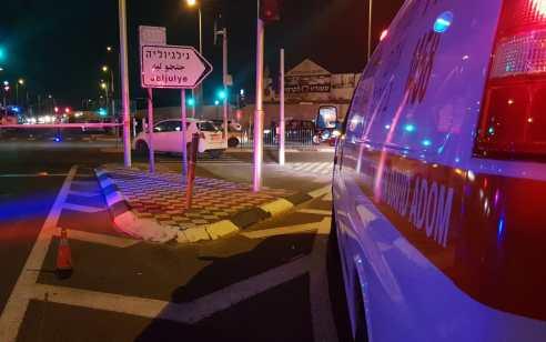 2 ילדים רוכבי אופניים נפצעו אנוש וקשה בתאונה בכביש 444 סמוך לצומת ג'לג'וליה