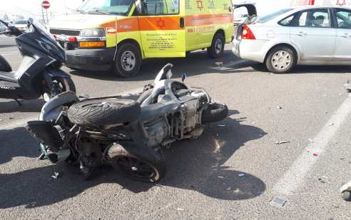 רוכב אופנוע בן 51 נהרג בתאונה סמוך לבאר יעקב