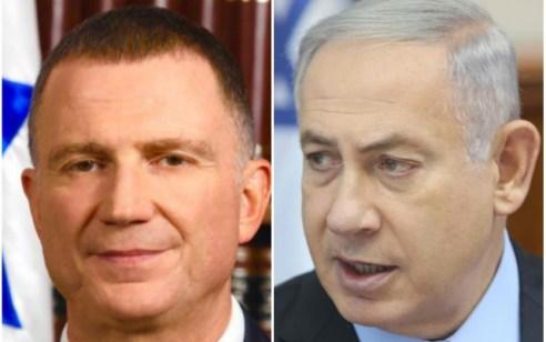 """נתניהו נפגש עם אדלשטיין במעון ראש הממשלה: """"תומך בהמשך כהונתך כיושב ראש הכנסת"""""""