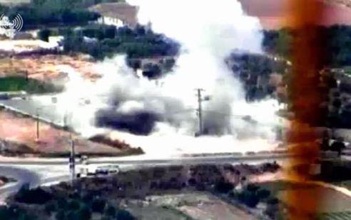סיכום תקיפות: 690 שיגורים ו-350 יעדי טרור