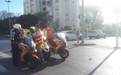 ילד בן 10 נפגע מרכב באשדוד – מצבו בינוני