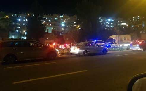 רוכב אופניים בן 30 נפצע קשה בתאונה עם רכב בירושלים