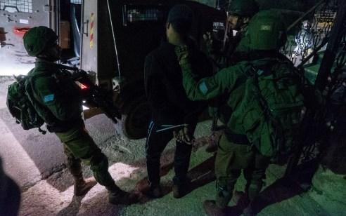 הלילה נעצרו שישה מבוקשים פעילי טרור