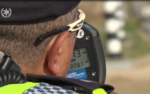 """5,700 דו""""חות נרשמו נגד עבירות מסכנות חיים ובריונות כביש במהלך השבוע"""
