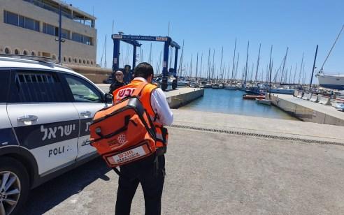 מרינה באשדוד: בן 37 נמשה מהים ללא רוח חיים