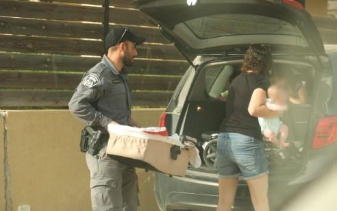 שריפה במטה יהודה: המשטרה הכריזה על פינוי מושב תרום
