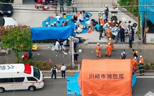 יפן: אדם דקר אנשים וילדים ונעצר כשניסה להתאבד – 2 הרוגים ו19 פצועים