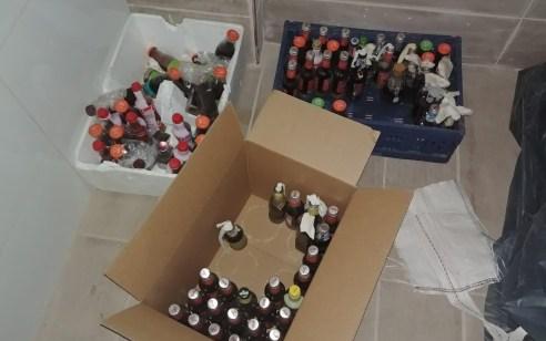 במסגרת הלחימה בהחזקת אמצעי לחימה: נחשפו הלילה 104 בקבוקי תבערה – חשוד בן 20 נעצר