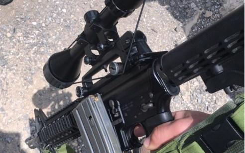 נתפס רכב חשוד עם נשק מסוג m16 סמוך לראס כרכר – הנהג נעצר
